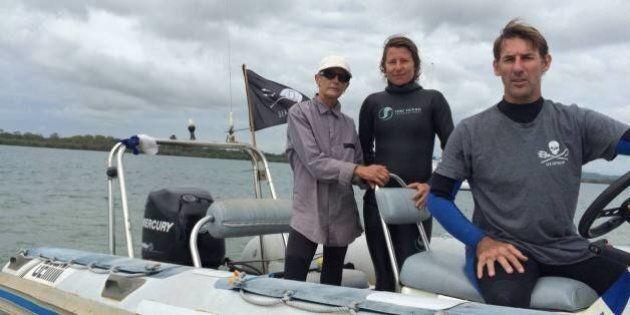 Sea Shepherd Crew Accused Of De-Baiting Smart Drum Lines In Ballina And Byron