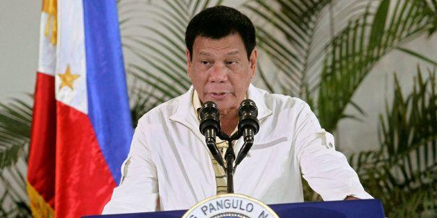 Philippines' President Rodrigo Duterte.