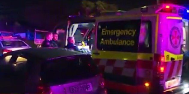 A teenage boy has been critically injured during a party brawl in