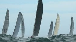 Southerly Squall Batters Sydney To Hobart