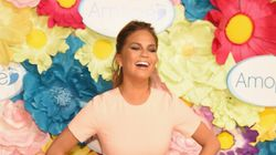 Chrissy Teigen Gives The Middle Finger To Her Pregnancy
