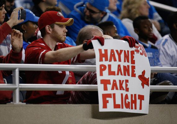 Jarryd Hayne Finally Returns For The 49ers In Loss To