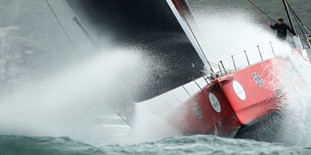 'Comanche' Defies Wild Weather, Damage To Win Sydney To Hobart Line