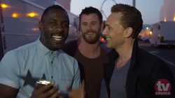 Tom Hiddleston's Award Moment Is Gatecrashed By VERY Famous