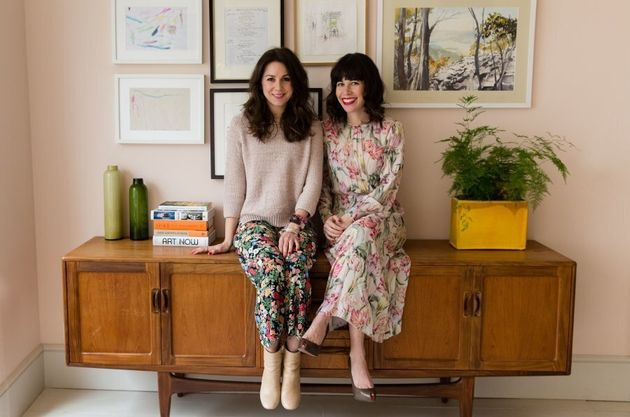 Phanella Mayall Fine and Alice Olins, authors of the book 'Step