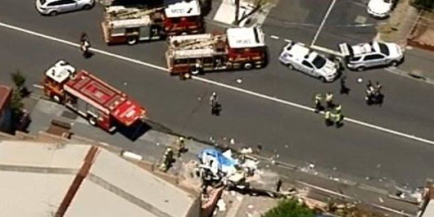 Explosion Rocks Footscray After Traffic Collision, Man