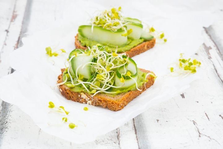 Spouted legumes like alfalfa sprouts aren't a new food and are a nutritious addition to salads and sandwiches.