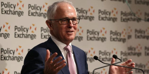 Prime Minister Malcolm Turnbull addressed Policy Exchange and was awarded the Disraeli Prize in