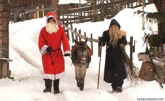 A Delightful Look At How Swiss Santa Is Different To Aussie