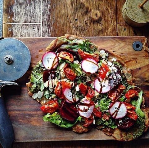 The Lost Boys Cafe might be bringing back its Root Veg pizza soon!