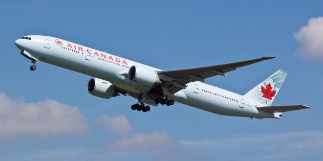 The Air Canada flight was carrying 135 passengers and five crew members when the near miss