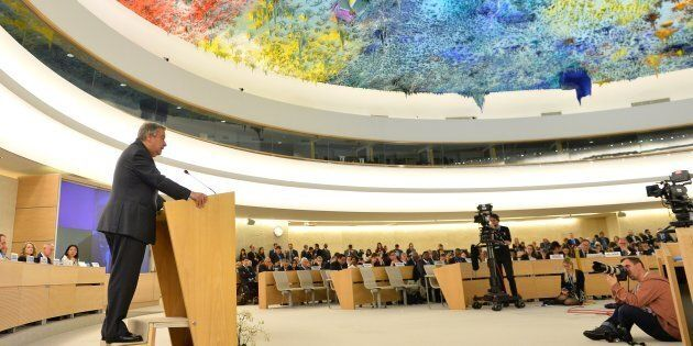 Australia wants a seat at the United Nations Human Rights Council in Geneva,