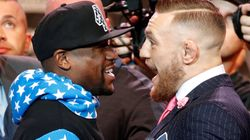Conor McGregor Replaces Pin Stripes With 'F*** YOU' In His Suit To Face Floyd