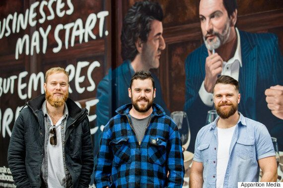 From Baked Beans To Big Bikkies, How Three Friends Fulfilled Their Street Art Dream From