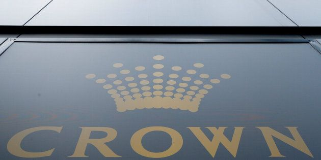 Australian casino giant Crown Resorts Ltd. Several employees were released from detention in China on Wednesday. This logo adorns the hotel and casino complex in Melbourne, Australia.