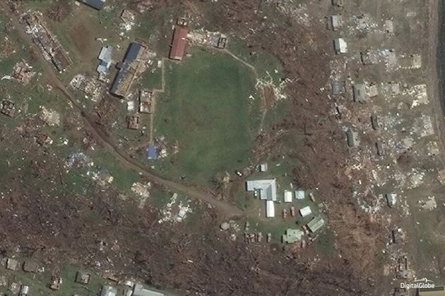 These Before And After Photos Show The Devastating Impact Of Fiji's Cyclone
