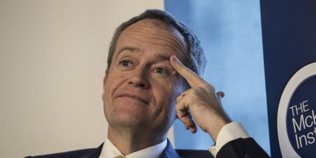 Opposition Leader Bill Shorten says getting lecture from the Prime Minister on courage is