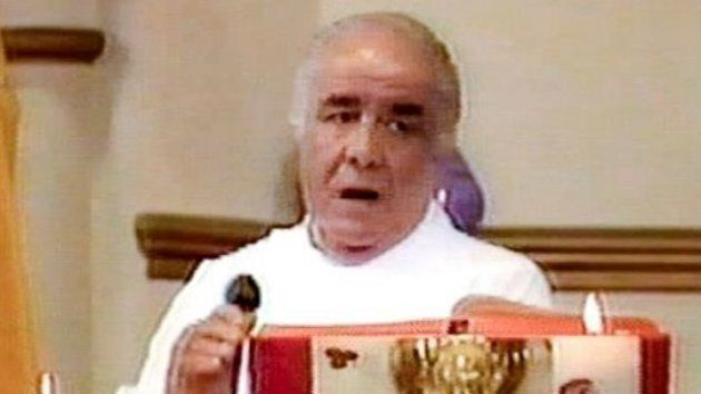 A witness saw Father Anthony Bongiorno covered in blood near the James' home on the day of the
