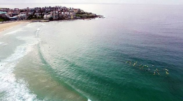 A paddle out for a good