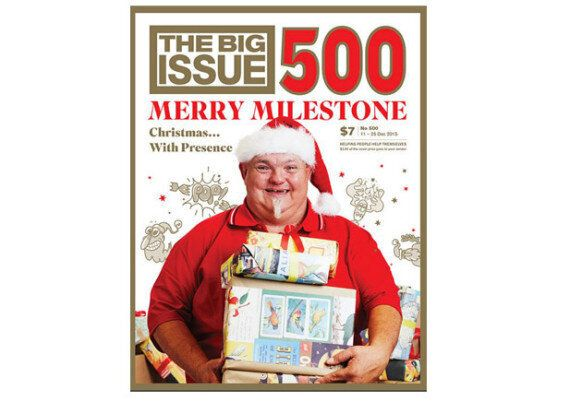 Big Name Celebs Help Sell 'The Big Issue' To Mark The Magazine's 500th