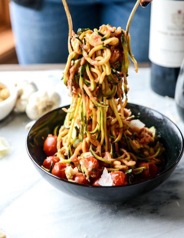 6 Delicious Low-Carb 'Pasta'