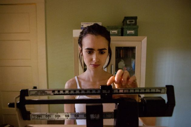 Lily Collins has spoken out in the past about her history with eating disorders, but experts are criticising...