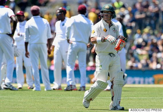Australia West Indies Test Hobart: Adam Voges And Shaun Marsh Dominate Day