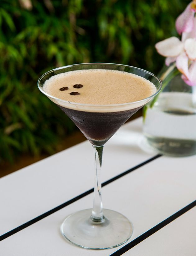 Salted caramel goodness infuses this smooth espresso martini base for a perfectly sweet
