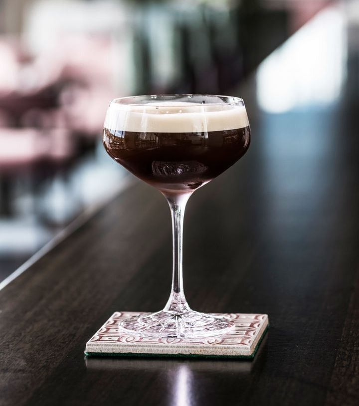 If you love coconut and anything salted, this espresso martini is for you.