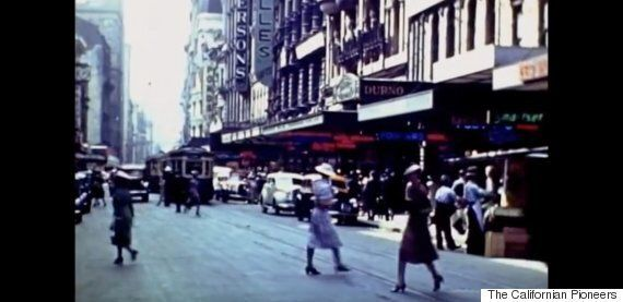 Unknown Traveller's Holiday Footage Of 1940s Australia Found In Californian Garage