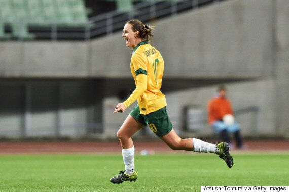Emily Van Egmond Goal Helps Matildas Draw With