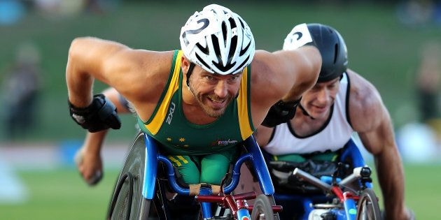 Kurt Fearnley: Legend. Not a disabled legend or a superhuman legend. Just a
