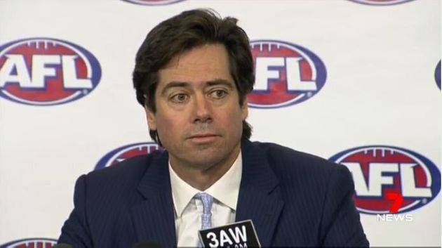 AFL chief executive Gillon McLachlan accepted the resignations on Thursday