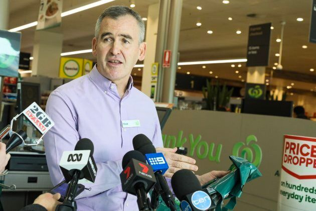 CEO Brad Banducci says Woolworths is phasing out single-use bags because