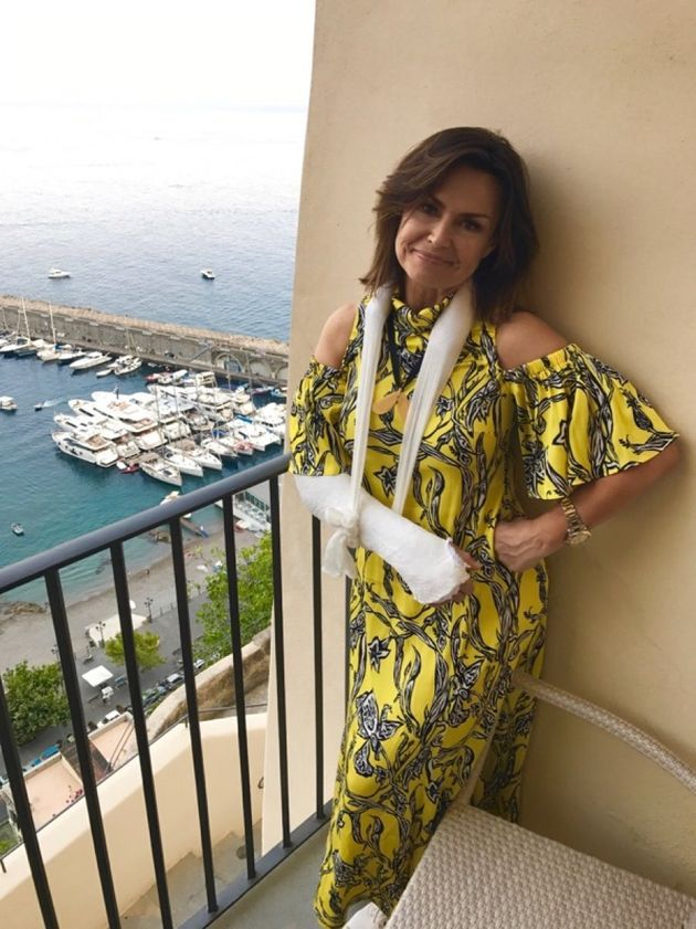 Lisa Wilkinson: How A Slip In The Shower Ruined My Italian