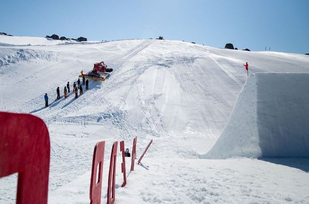 So Guess What Happened Next On This Snowy Thredbo