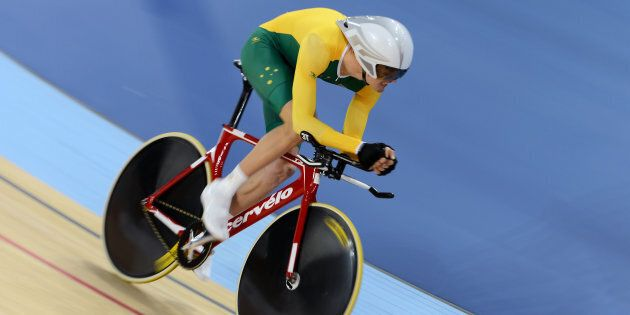 David Nicholas has bagged one of Australia's golds on day 2 of the Paralympics in