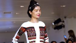Acid Attack Survivor Makes Her New York Fashion Week