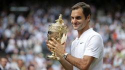 Federer Nabs 8th Wimbledon Win, Oldest Ever Men's Singles
