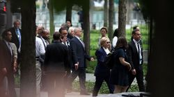 Clinton Leaves 9/11 Ceremony After Feeling