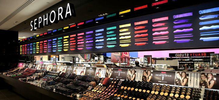 The First Australian Sephora store in Westfield Pitt Street Mall, Sydney.