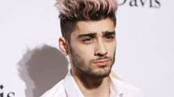 Zayn Malik Shows Off His New Face