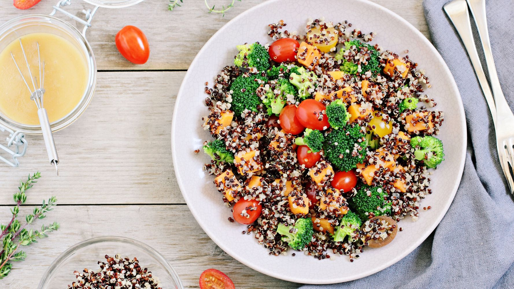 how to eat quinoa on raw food diet