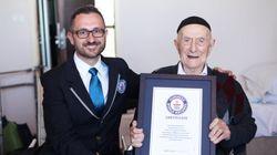 Holocaust Survivour Is New Oldest