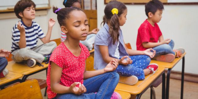 Kids can benefit from mindfulness, too.