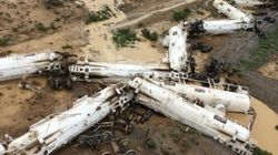 Wet Weather Hampering Clean-Up After QLD Train