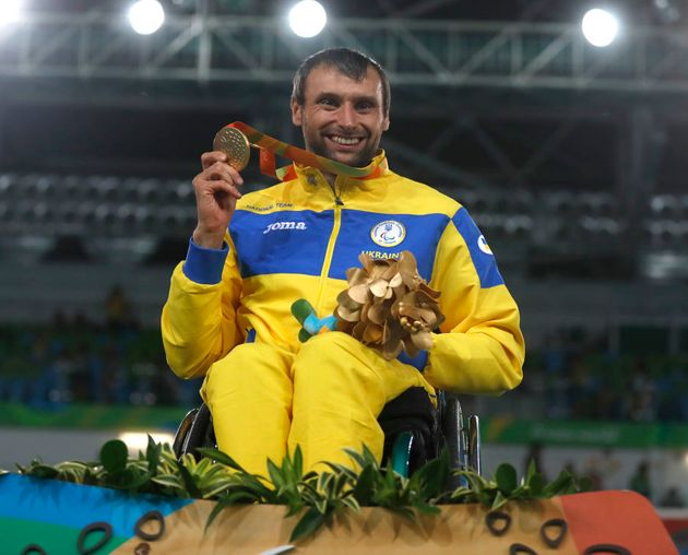 Anton Datsko won the Wheelchair Fencing and was silver medallist in the