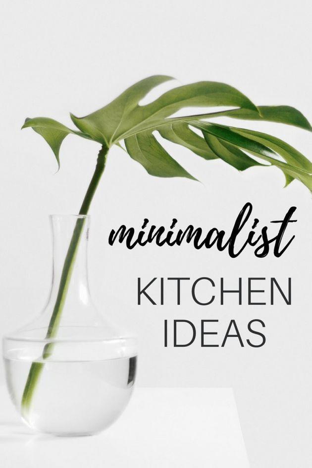 21 Minimalist Kitchen Ideas To Lust