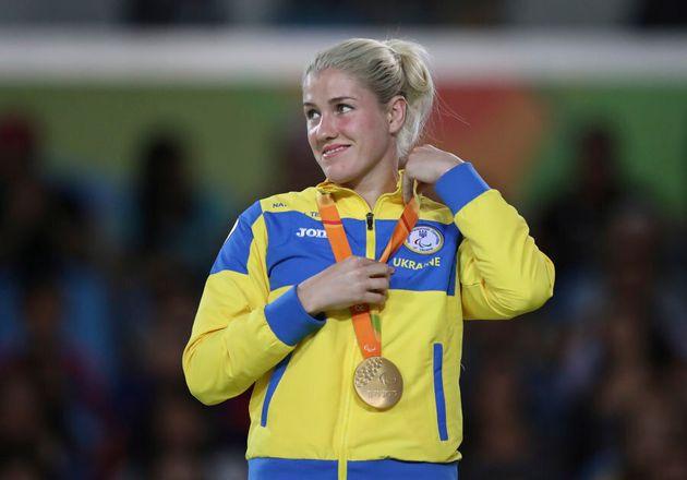 Shucks, looks like judoka Inna Cherniak just won yet another Paralympic gold for Ukraine in