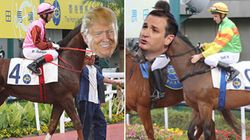 Cruz Beats Trump. (But It Was Only A Horse